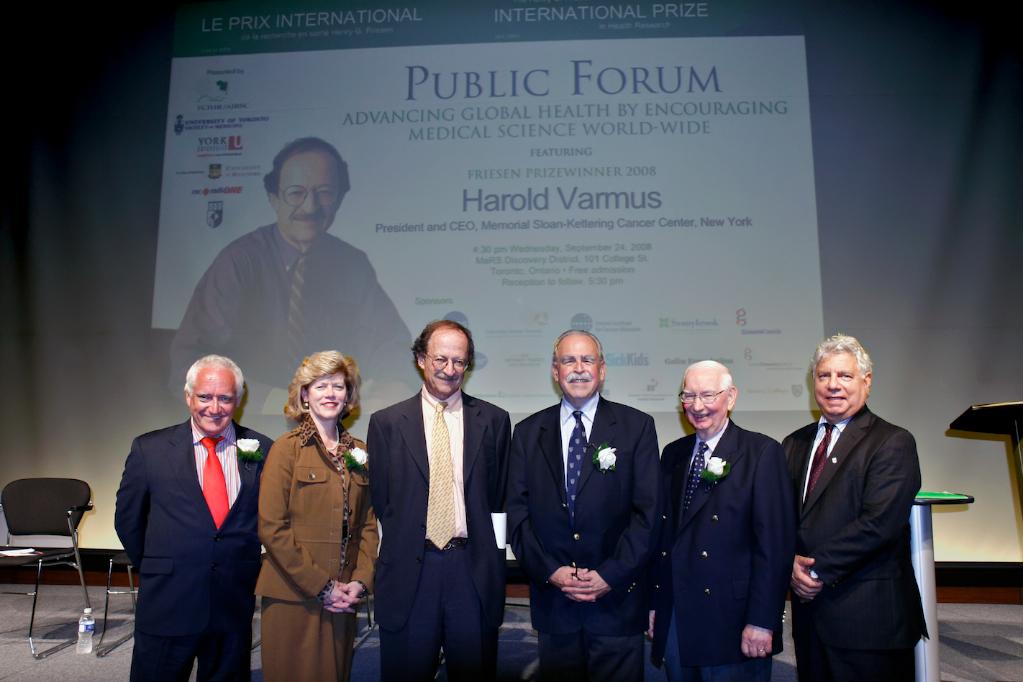 2008 Friesen Prize - Harold Varmus