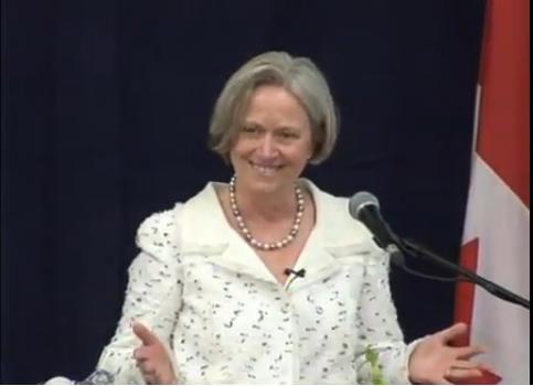 2010 Friesen Prize - Shirley Tilghman