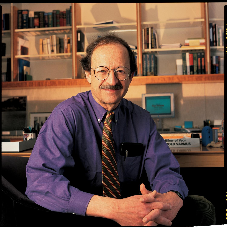 Harold Varmus, 2008 Friesen Prizewinner