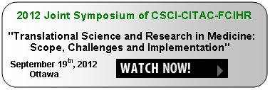 2012 Joint Symposium of CSCI-CITAC-FCIHR
