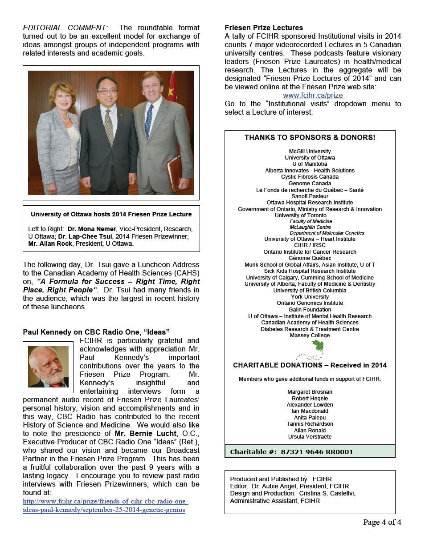 Page 4 - JPG - 2014 Spotlight Newsletter - FCIHR