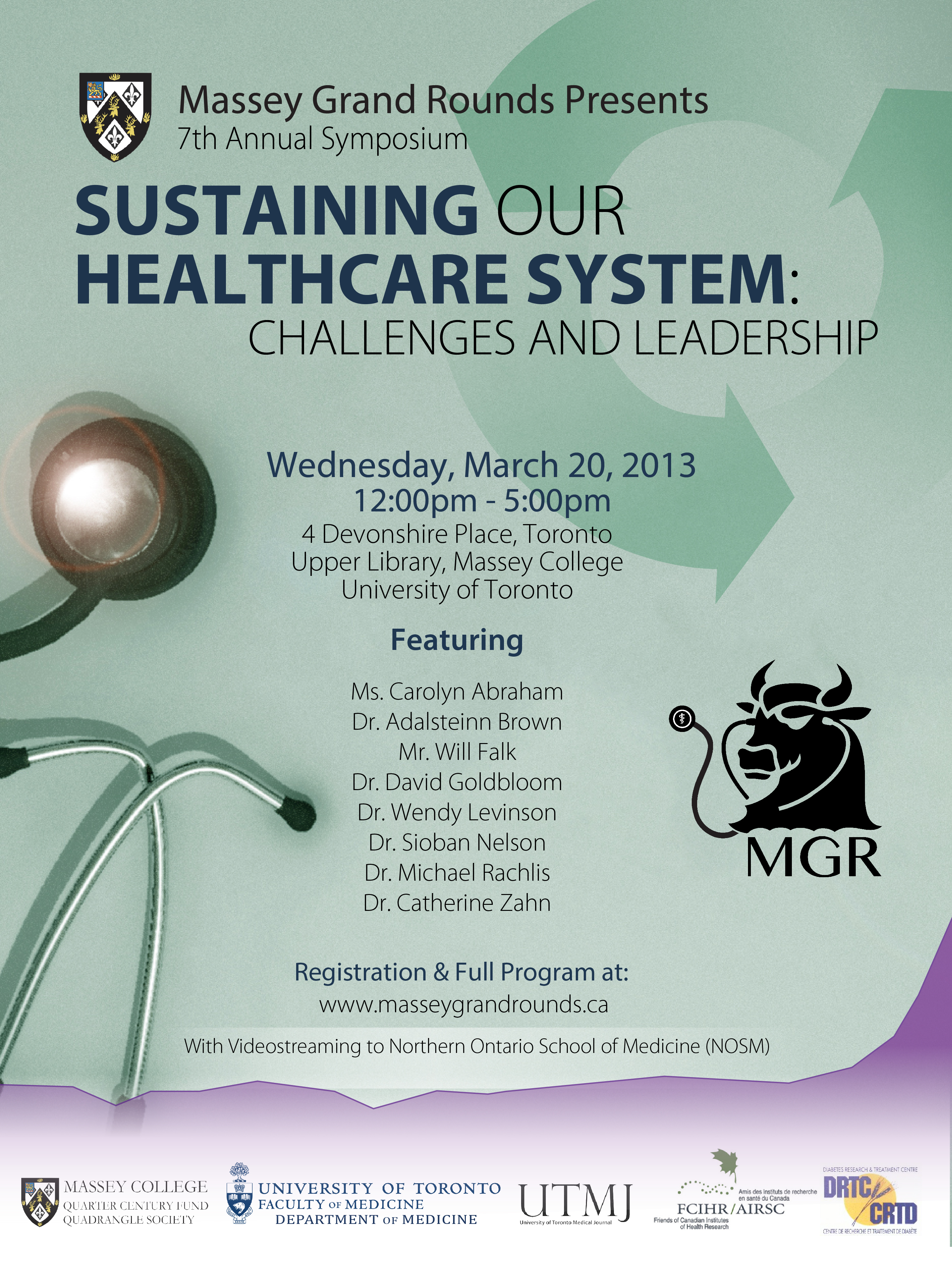 POSTER - 2013 Massey Grand Rounds Symposium