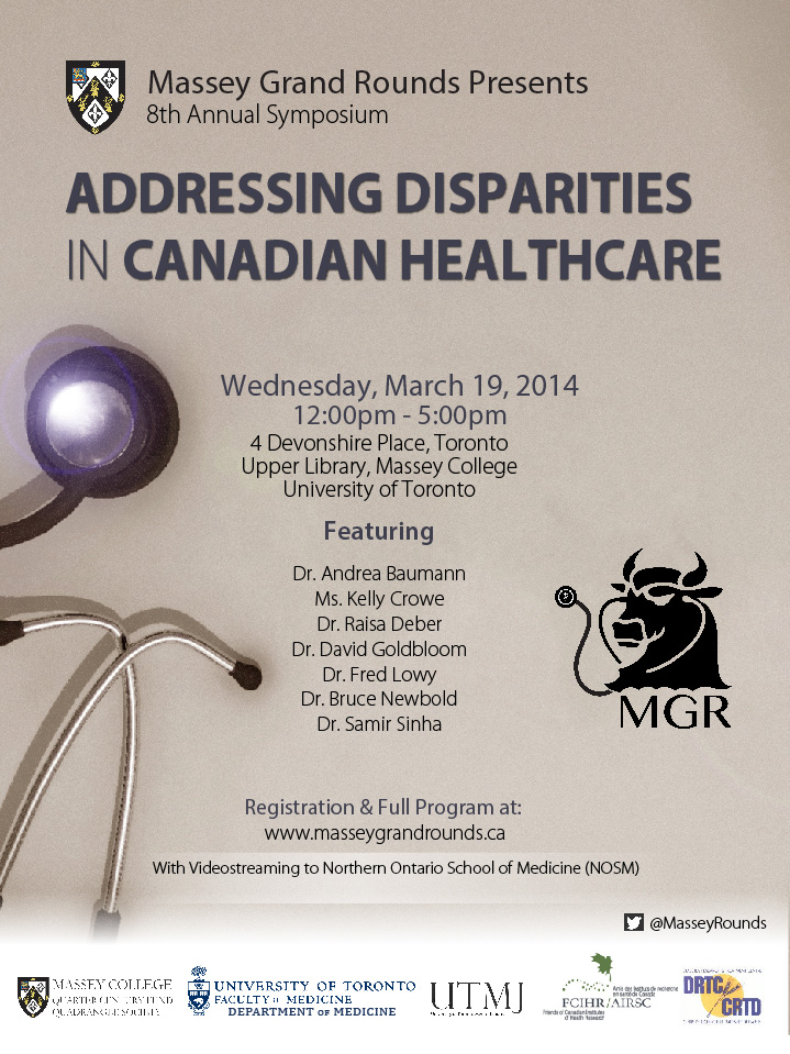 2014 Massey Grand Rounds Symposium - Poster - March 19